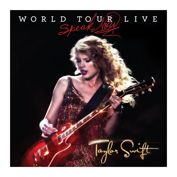 Speak Now - World Tour Live DVD/CD