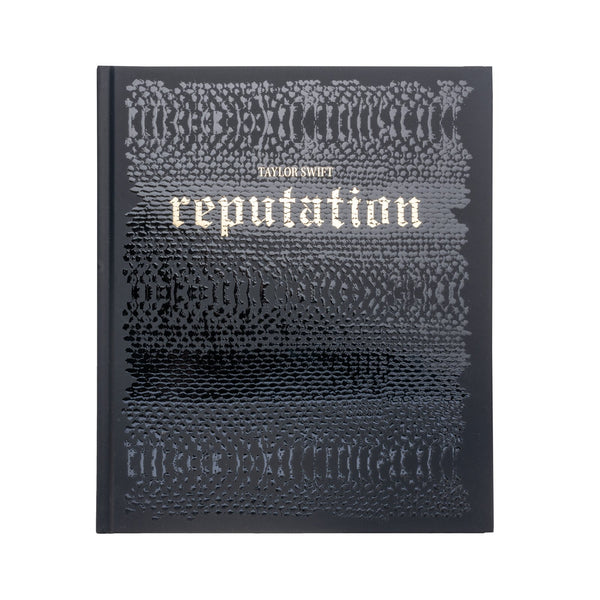 Front of the LIMITED EDITION HARDBACK REPUTATION BOOK