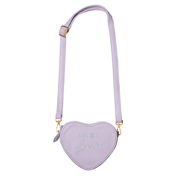 HEART-SHAPED CONVERTIBLE LYRIC BAG