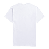 WHITE TEE WITH MULTICOLOR DESIGN