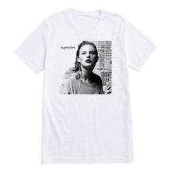 Front of the ALBUM COVER TEE