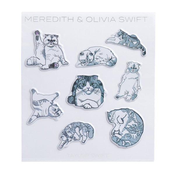 MEREDITH & OLIVIA SWIFT STICKERS