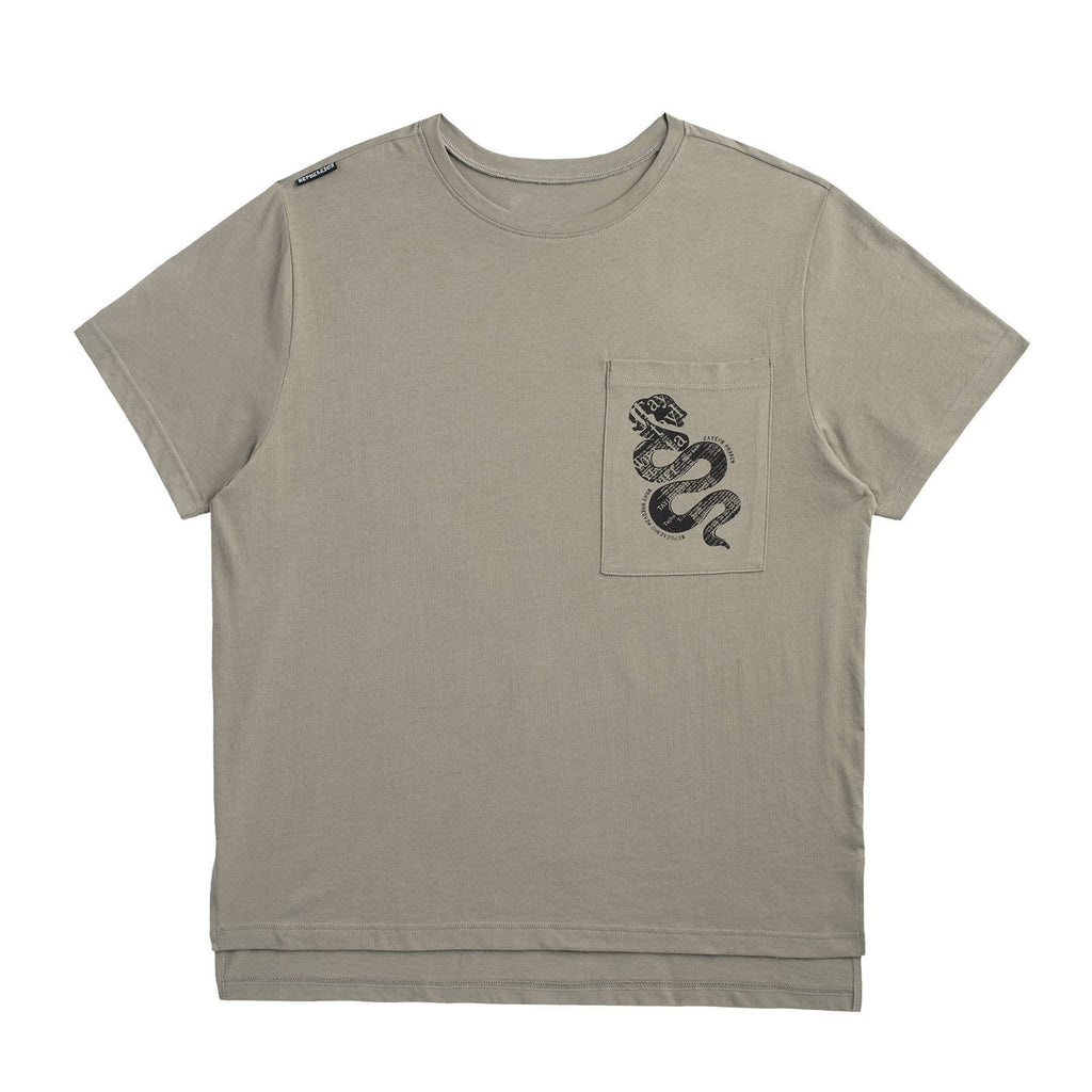 Green Pocket Tour Tee With Snake Design Taylor Swift Online Store