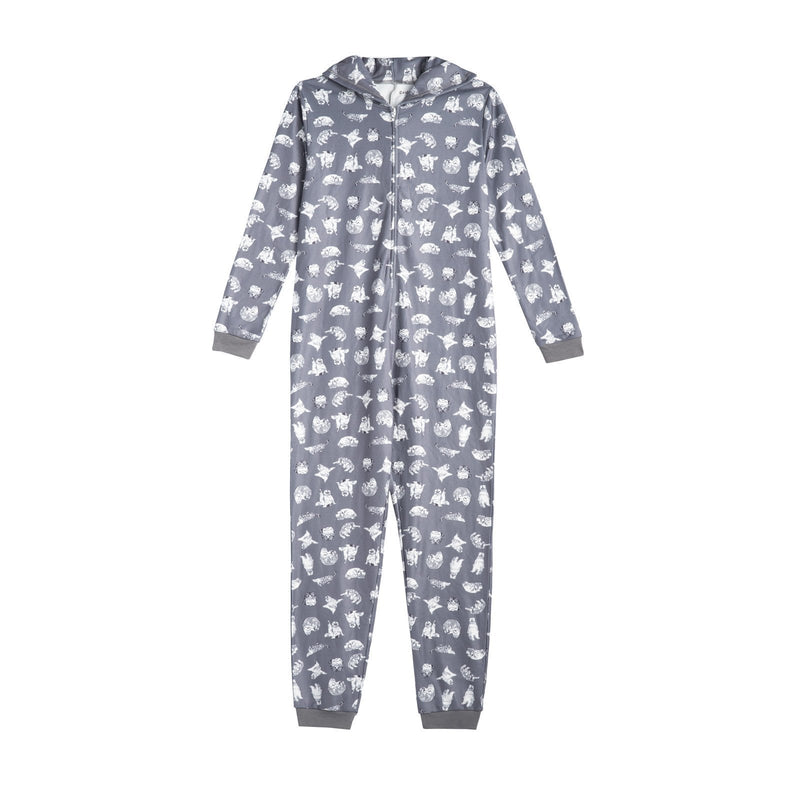 Front of the GREY MEREDITH AND OLIVIA PJ'S