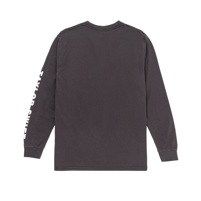 Grey Album Cover Long Sleeve Tee