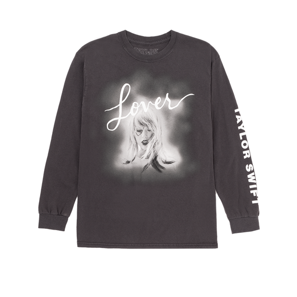 top quality low priced buy good Grey Album Cover Long Sleeve Tee – Taylor Swift Official Store