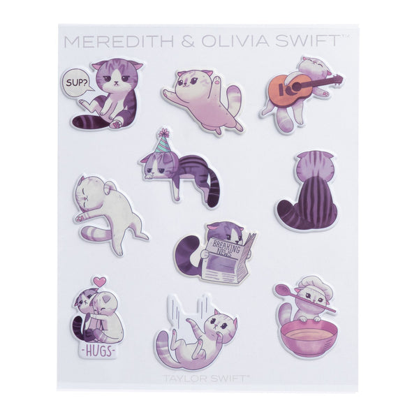 MEREDITH AND OLIVIA SWIFT TAYMOJI STICKERS