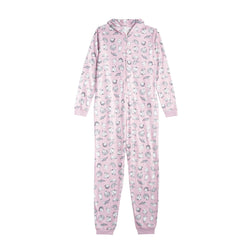 Front of the PINK MEREDITH AND OLIVIA PJ'S
