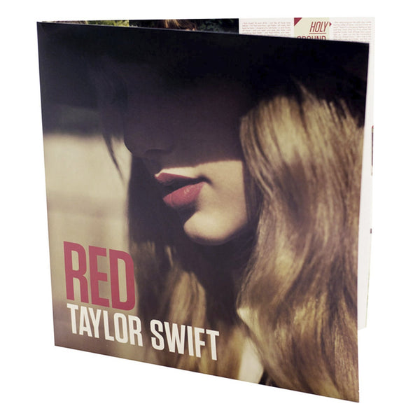 RED ALBUM VINYL LP