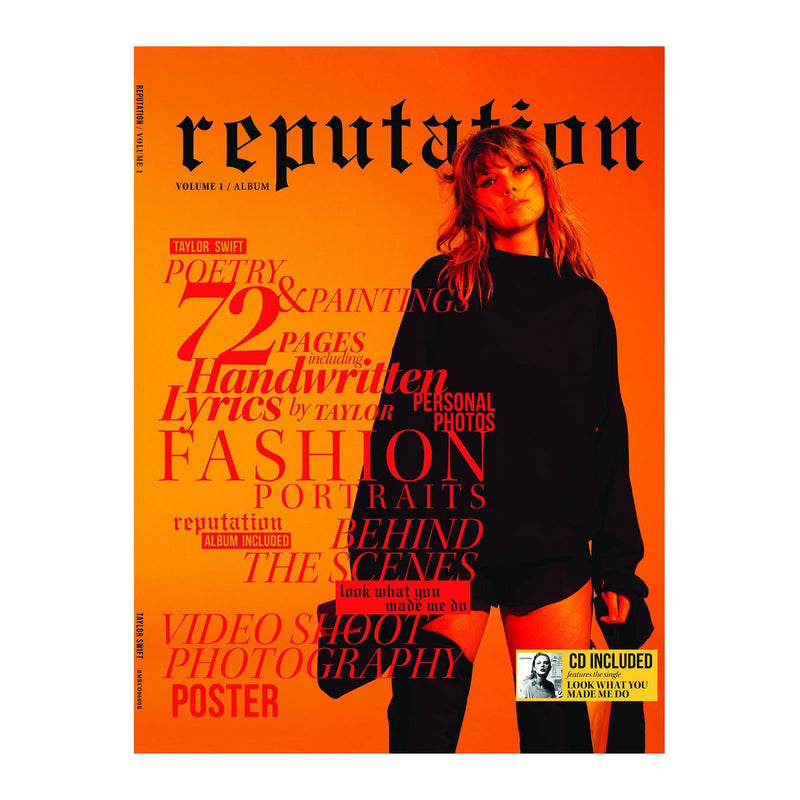 Taylor Swift - reputation (CD + Magazine Vol 1)