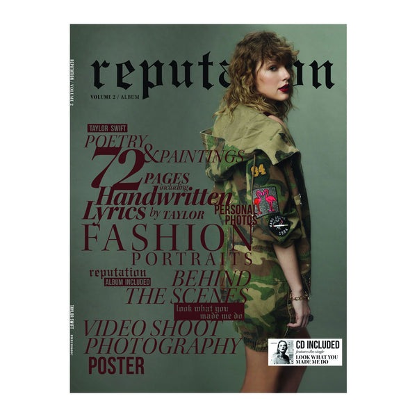 Taylor Swift - reputation (CD + Magazine Vol 2)