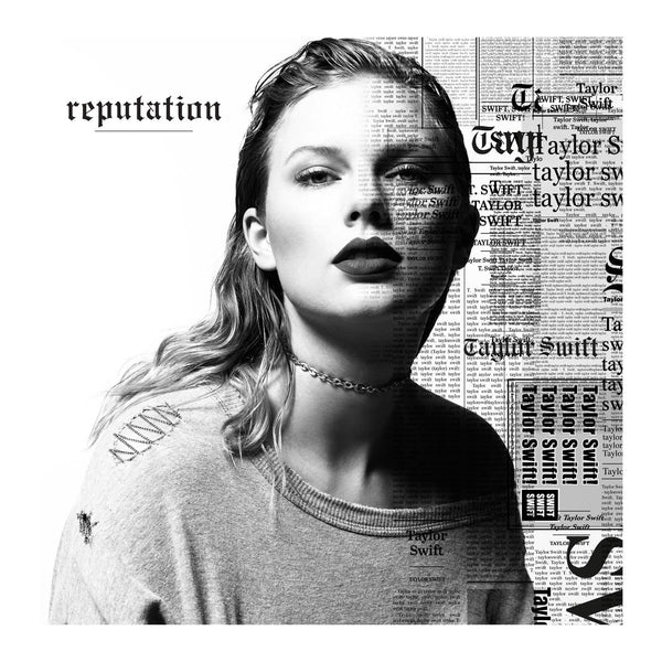 front of the reputation CD