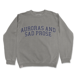 "the ""auroras and sad prose"" pullover"