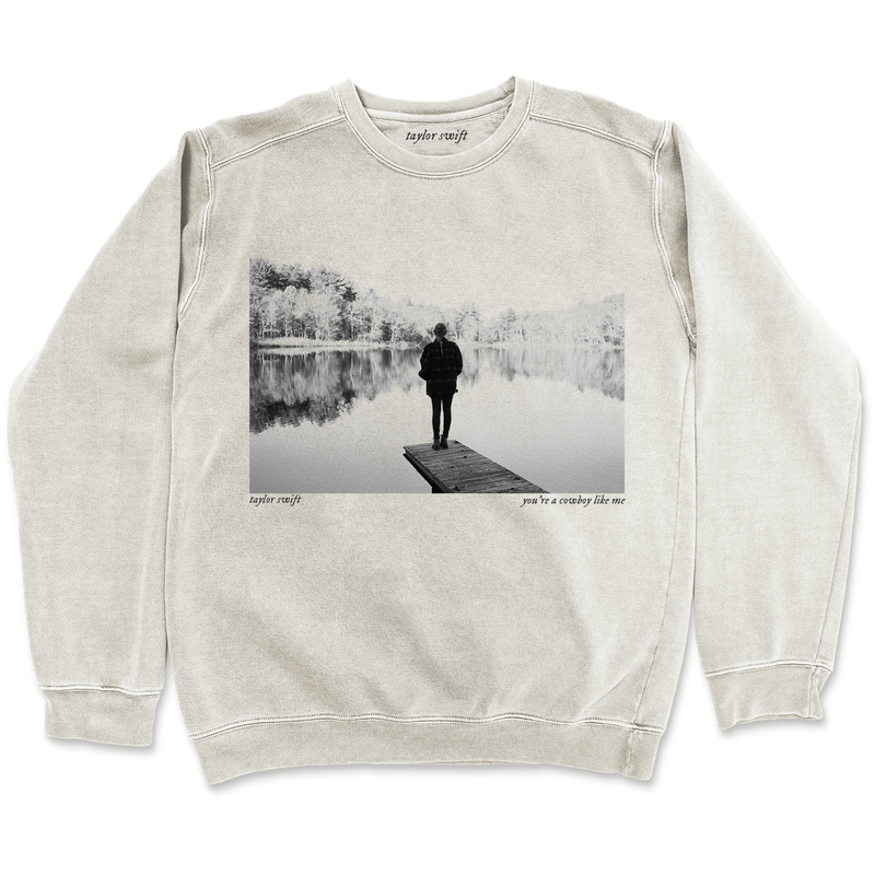 "the ""cowboy like me"" pullover"