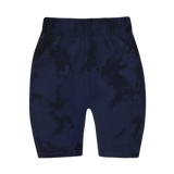 "the ""no other shade of blue"" bike shorts"
