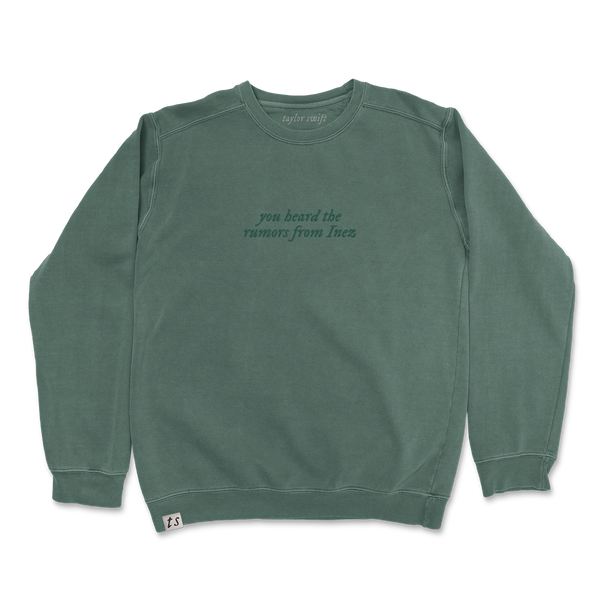 "the ""you heard the rumors from inez"" pullover"