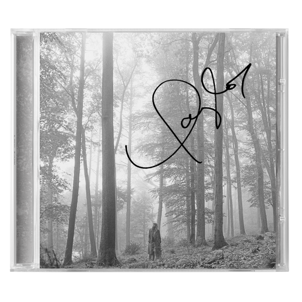 "the limited edition signed ""in the trees"" edition deluxe cd (international customers only)"