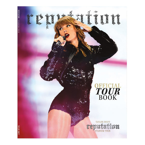 Front of the OFFICIAL REPUTATION STADIUM TOUR BOOK
