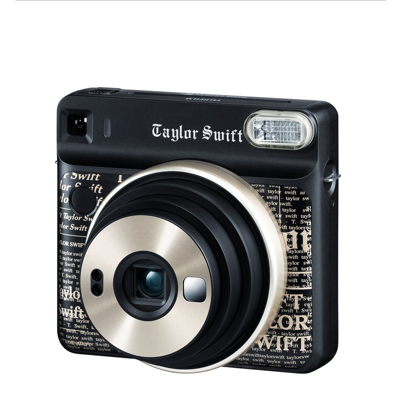 Front of the instax SQUARE SQ6 Taylor Swift Edition with zoom extended