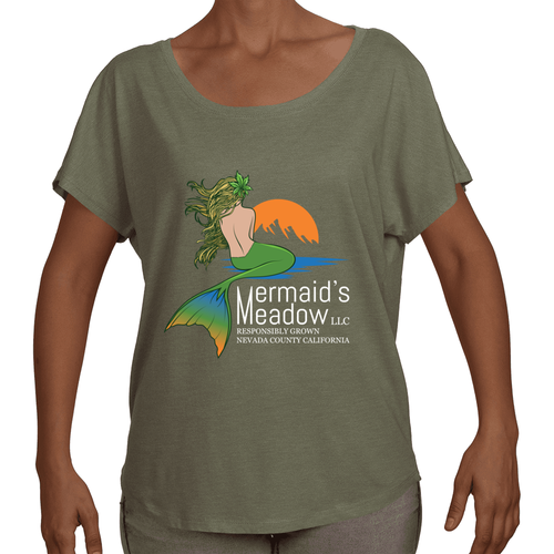 Women's Tri-Blend Dolman Top - W Dolman Top - Next Level - Mermaid's Meadow Market