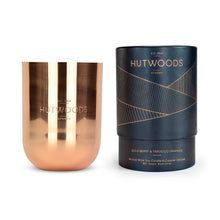 Hutwoods luxury Goji Berry & Tarocco Orange Wood Wick Soy Candle
