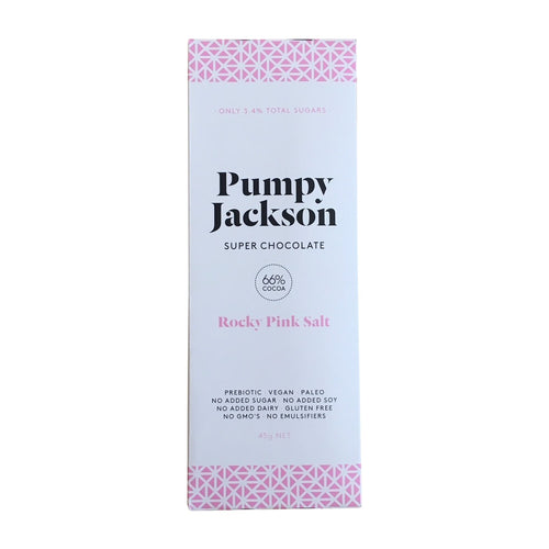 Pumpy Jackson Rocky pink salt super chocolate