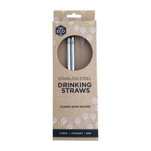 ever eco, stainless steel straws, reusable straw