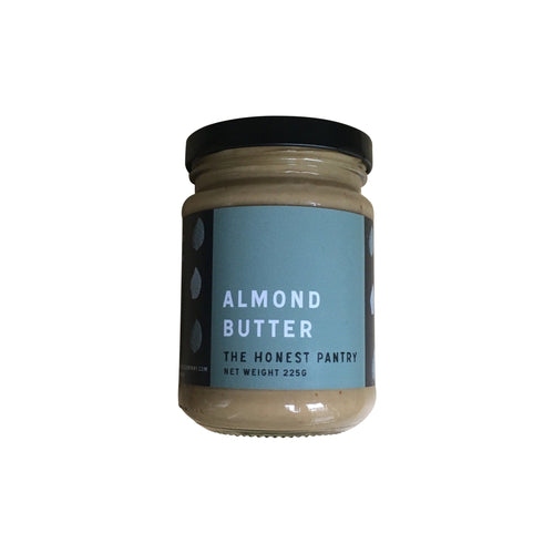 Almond butter by the The Honest Pantry. Artisan small batch Australian nut butter.