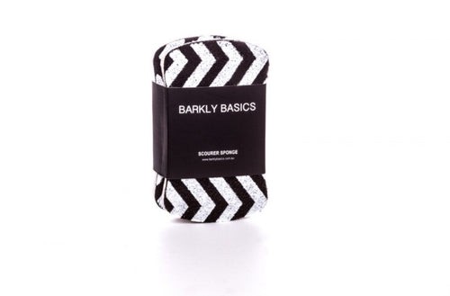 Barkly Basics two pack chevron sponge and scourer.