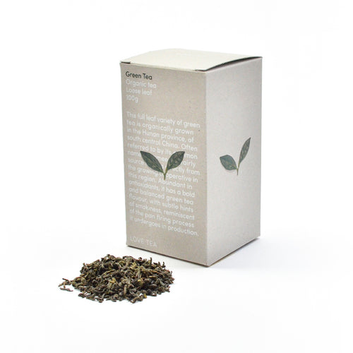 Love Tea Green tea loose leaf.