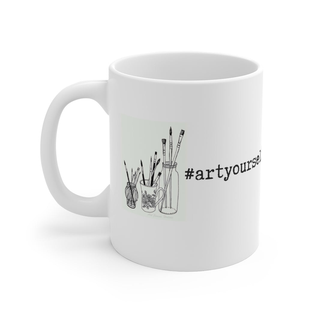 #ArtYourself Mug - Aphotic