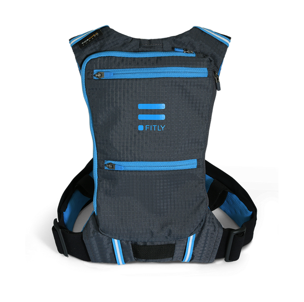 Fitly running innovative pack front blue