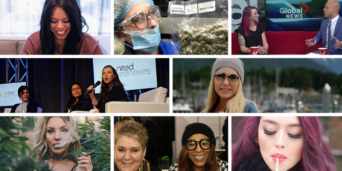 Women in Weed to Follow in Celebration of #IWD2019