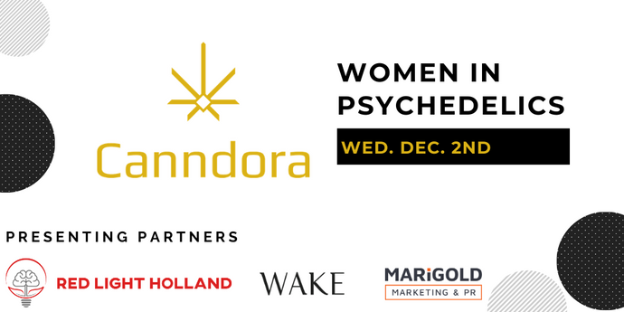PRESS RELEASE: Canndora Announces 2020 Women in Psychedelics Event