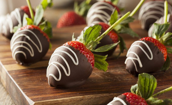 Canna-chocolate dipped strawberries