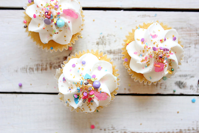 First Day of Spring: Ripple Lemon Cupcakes
