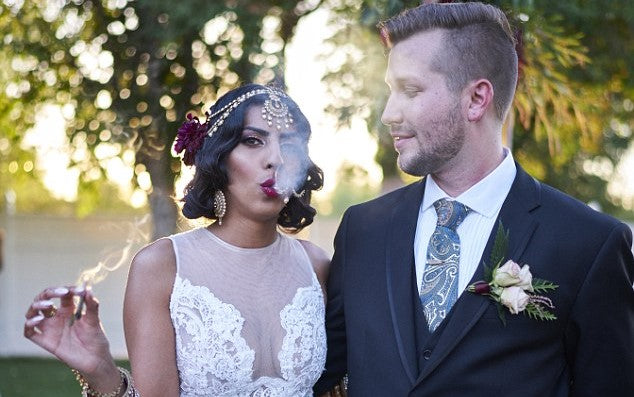 Cannabis Infused Wedding