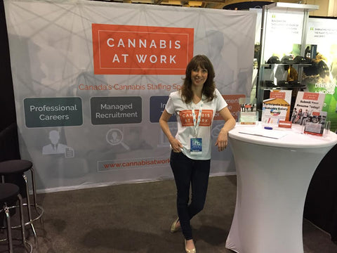 Lift expo cannabis at work booth