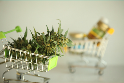 Grow your own with patient choice, cannabis in shopping cart
