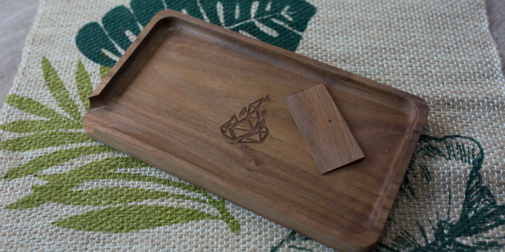 BRNT x Canndora Handcrafted Rolling Tray