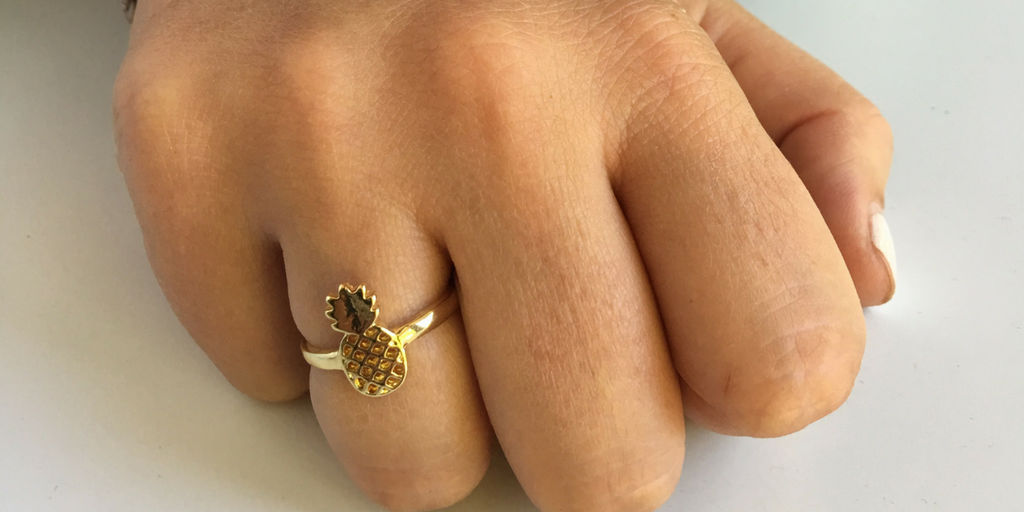 Pineapple Ring (Gold)