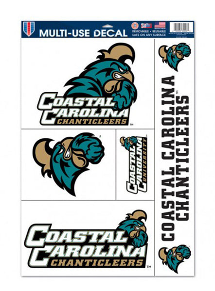 Coastal Carolina University Decal Variety Pack