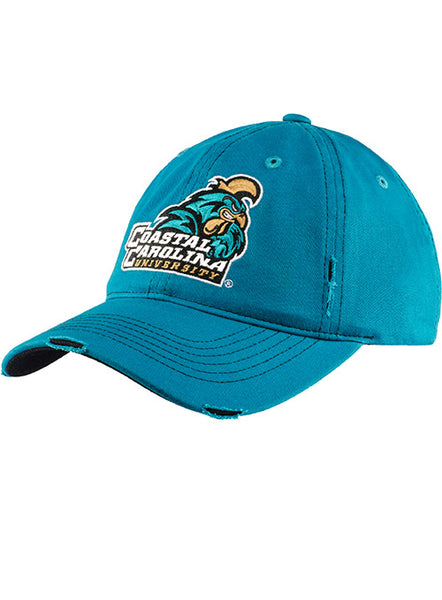 Coastal Carolina University Distressed Slouch Hat