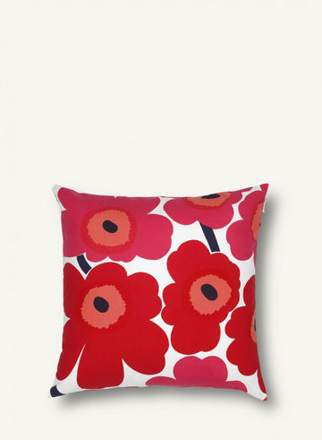 Marimekko Unikko Cushion Red 50 x 50