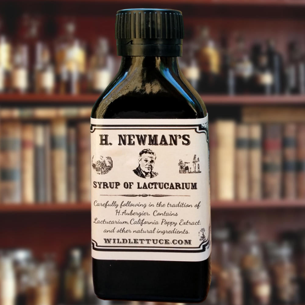 Our Syrup of Lactucarium closely follows the original recipe of H. Aubergier