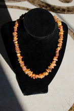 "16"" Honey Amber Raw Unpolished Amber Necklace"