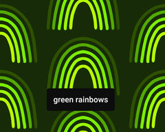 Green rainbows