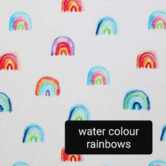 watercolour rainbows