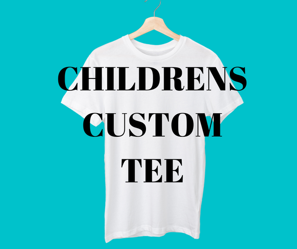 CUSTOM childrens tee