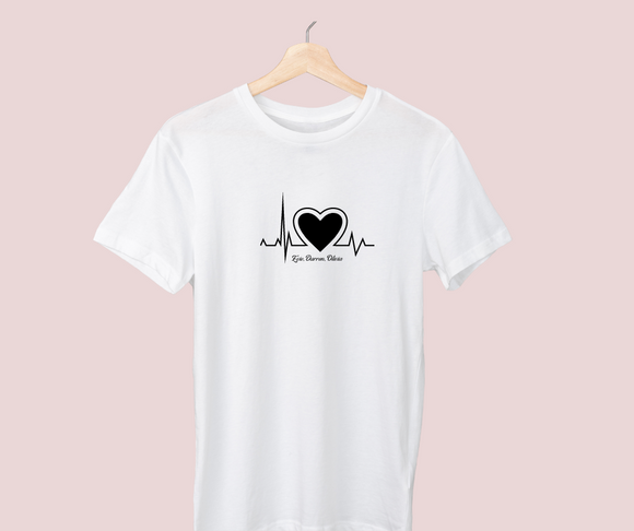 Heartbeat - multiple colours available
